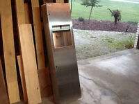 Stainless Steel paper dispenser and garbage