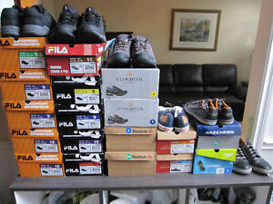 Men's Running/Hiking/Hydro Shoes - Reebok, Fila, Levis, Speedo