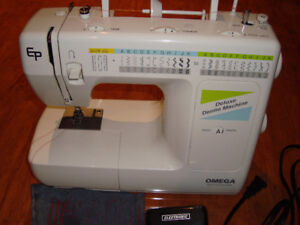 OMEGA EP DELUXE DEMIN SEWING MACHINE