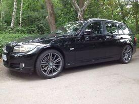 BMW 320d Touring / Estate left hand car