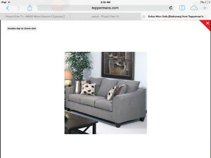 Mint condition beige couch and love seat London Ontario image 1
