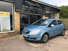 2007 Vauxhall corsa club 1.2 Petrol blue 5 Door