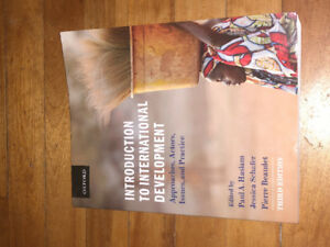 Introduction to International Development, by Haslan, Schafer...
