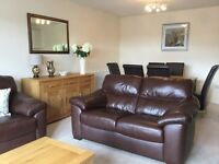 Fully furnished two bedroom flat to let