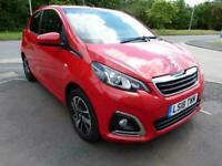 2018 Peugeot 108 PURETECH ALLURE Manual Hatchback Petrol Manual