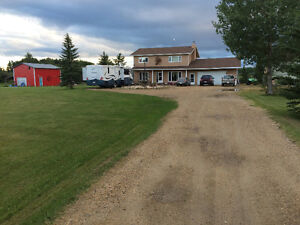 REDUCED Drayton Valley Acreage - Immediate Occupancy