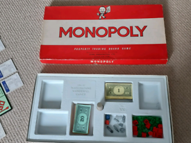 Monopoly board game - 1960s