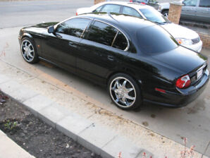 stunning 2002 Jaguar S type Black on Black Must see