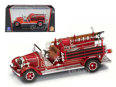 1932 BUFFALO TYPE 50 FIRE ENGINE RED 1/43 DIECAST MODEL BY ROAD SIGNATURE 43005