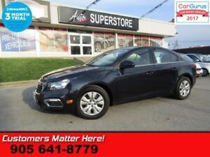 2016 Chevrolet Cruze Limited LT w/1LT  CAMERA BLUETOOTH STEERING