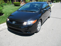2007 Honda Civic Coupe 2DR Certified & E-tested,151474km  $7,800