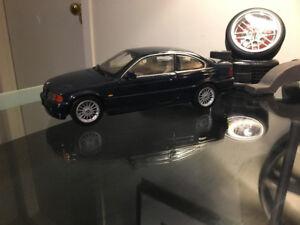 KYOSHO 1:18 BMW 328 Ci DARK BLUE