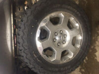 "20"" ford rims and tires"