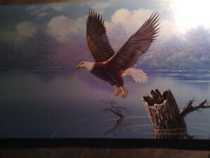 Eagle Oil Painting