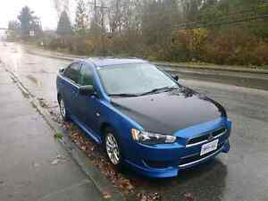2012 Mitsubishi lancer  Manual