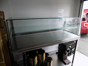 """Glass Food Display lighted case 58"""" $ 450.00 Call 727-5344"""