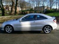 2006 Mercedes-Benz C Class C180K Evolution S 3dr Auto COUPE Petrol Automatic
