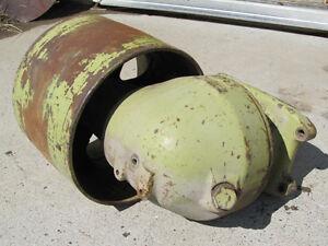 John Deere 10 Series Tractor Belt Pulley