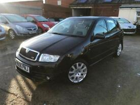 Skoda Fabia 1.9TD ( 130bhp ) vRS - 06 - Only 108k - July 18 Mot