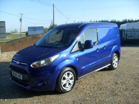 Ford Transit Connect 1.6TDCi ( 115PS ) 200 L1 Limited DEEP IMPACT MET BLUE