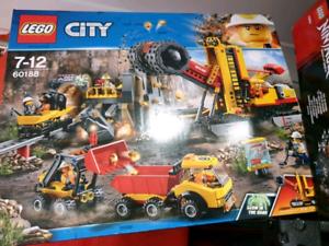 BNIB 60188 Lego city mining experts site