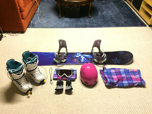Snowboarding Pkg - Everything you need!