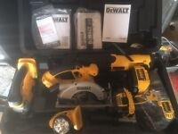 Dewalt 18v kit - BRAND NEW