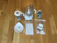 Kenwood FP580 2-Speed Food Processor White + All Accessories