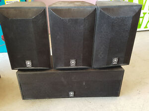 Yamaha Speakers Set of 4 For Sale - Great Sound, Cheap Price!