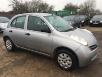 NISSAN MICRA 2004/53 1.2 S PETROL - AUTOMATIC - LOW MILEAGE - LONG MOT
