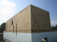 Simple R-19 / R-25 EPS insulation panels with pre-cut recesses