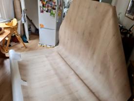 Large amount of felt backed sheet vinyl