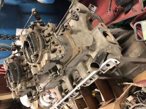 Ford 390 428 CJ Dual 4 barrell intake and carbs 1966 1968Mustang