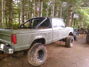 1992 Ford Ranger lifted