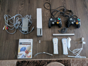Moded Wii with 64 GB USB stick in mint condition