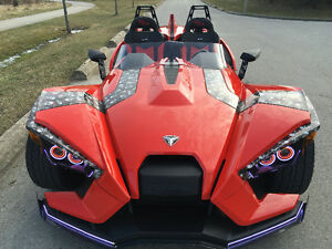 Red slingshot SL   A must see  modified   Heavily