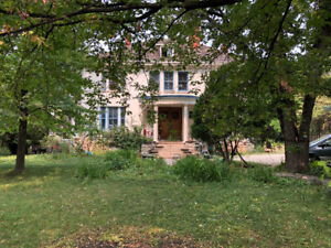Storied Old Mansion on the River on Wellington Crescent for rent