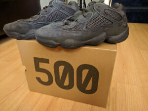 Yeezy 500 Utility Black Men's US 7.5