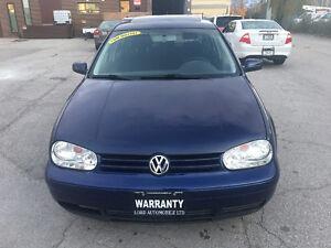 2004 Volkswagen Golf 4dr HB GLS Auto, One owner, Sunroof Oakville / Halton Region Toronto (GTA) image 2
