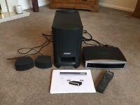 Bose AV3-2-1 surround sound media centre