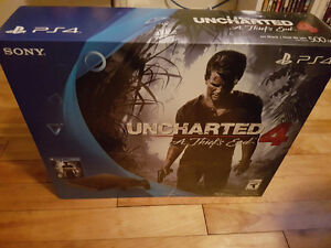 Ps4 uncharted 4 slim 500gb neuve selle