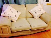 Dfs 3 + 2 seater fabric sofa - Reduced