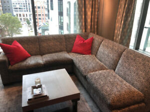 Large Custom Sectional Couch in Great Condition