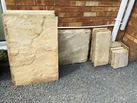 Yorkstone Natural Sandstone Slabs
