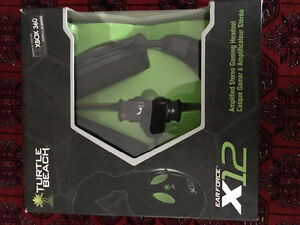 Ear force x12 turtle beach headset