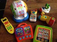 Electronic toddler toys