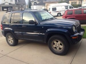 2002 Jeep Liberty Limited Edition