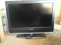 26 inch Sony lcd colour tv for sale cheap needs a hdmi repair