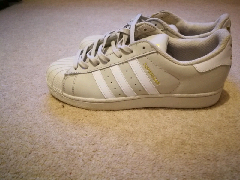 Adidas superstar trainers size 8 £45 ono | in Sittingbourne, Kent | Gumtree
