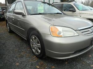 2003 Honda Civic tax included Sedan